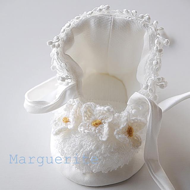 手編みの花モチーフ-小