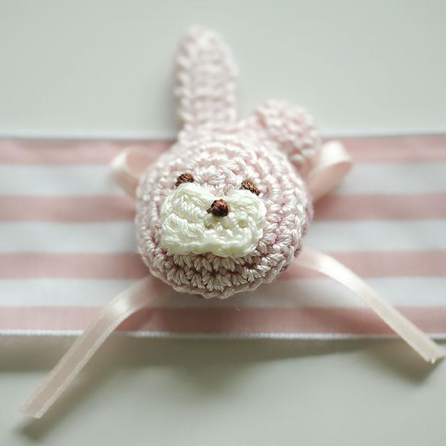 手編みのうさぎ
